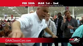 GAA Classic Cars TV Spot, '650 Classic and Muscle Cars' - Thumbnail 6