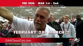 GAA Classic Cars TV Spot, '650 Classic and Muscle Cars' - Thumbnail 7