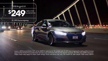 2018 Honda Accord TV Spot, 'NorCal Driver Testimonies' [T2] - Thumbnail 2