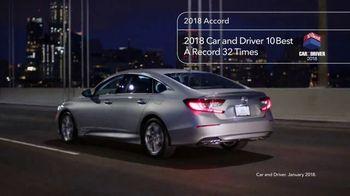 2018 Honda Accord TV Spot, 'NorCal Driver Testimonies' [T2] - Thumbnail 3