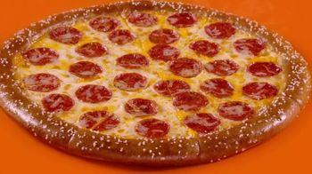 Little Caesars Soft Pretzel Crust Pizza TV Spot, 'Breathe, Baby' - Thumbnail 1