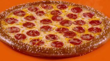 Little Caesars Soft Pretzel Crust Pizza TV Spot, 'Breathe, Baby' - Thumbnail 2