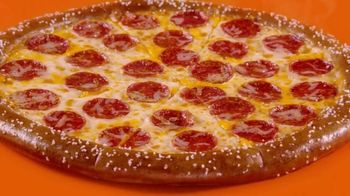 Little Caesars Soft Pretzel Crust Pizza TV Spot, 'Breathe, Baby' - Thumbnail 3