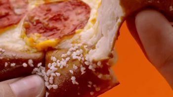 Little Caesars Soft Pretzel Crust Pizza TV Spot, 'Breathe, Baby' - Thumbnail 4