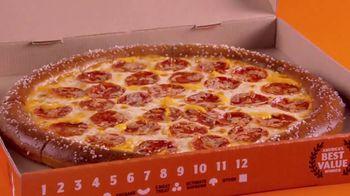 Little Caesars Soft Pretzel Crust Pizza TV Spot, 'Breathe, Baby' - Thumbnail 5