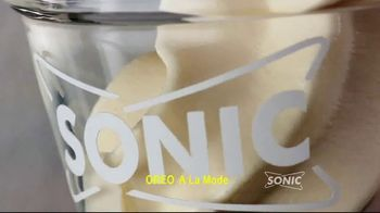 Sonic Drive-In Oreo A La Mode TV Spot, 'French' - Thumbnail 1