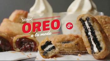 Sonic Drive-In Oreo A La Mode TV Spot, 'French' - Thumbnail 8