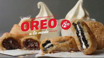 Sonic Drive-In Oreo A La Mode TV Spot, 'French' - Thumbnail 9
