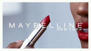 Maybelline New York Color Sensational Made for All Lipstick TV Spot, 'Sensational on All' - Thumbnail 1
