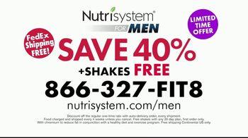 Nutrisystem for Men TV Spot, 'Perfect Balance: Free Shipping' - Thumbnail 10