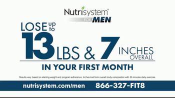 Nutrisystem for Men TV Spot, 'Perfect Balance: Free Shipping' - Thumbnail 4