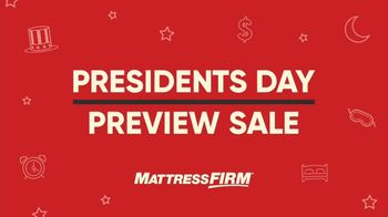 Mattress Firm Presidents Day Preview Sale TV Spot, 'Unparalleled' - Thumbnail 2
