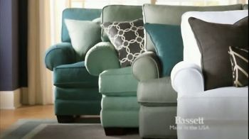 Bassett TV Spot, 'Custom Sofas' - Thumbnail 2