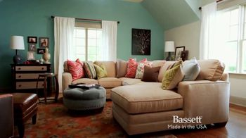 Bassett TV Spot, 'Custom Sofas' - Thumbnail 9
