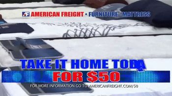 American Freight Savings by the Truckload TV Spot, 'Mattress Sets: Royal Ultra' - Thumbnail 3