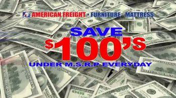 American Freight Savings by the Truckload TV Spot, 'Mattress Sets: Royal Ultra' - Thumbnail 5