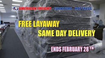American Freight Savings by the Truckload TV Spot, 'Mattress Sets: Royal Ultra' - Thumbnail 9