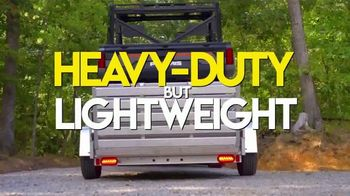 Aluma Trailers TV Spot, 'Heavy-Duty But Lightweight'