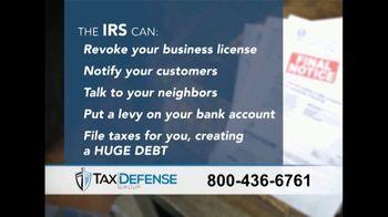 The Tax Defense Group TV Spot, 'Studio' Featuring Bob Eubanks - Thumbnail 6