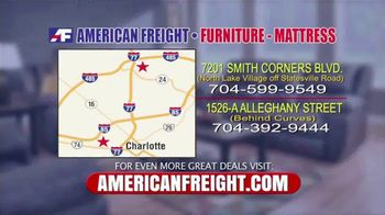 American Freight Savings By the Truckload TV Spot, 'Mattress Sets, Recliners and Sectionals' - Thumbnail 10