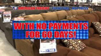 American Freight Savings By the Truckload TV Spot, 'Mattress Sets, Recliners and Sectionals' - Thumbnail 3