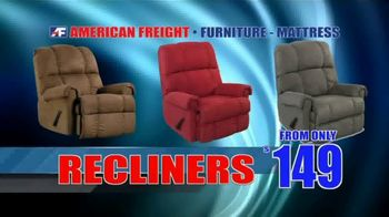 Savings By the Truckload: Mattress Sets, Recliners and Sectionals thumbnail