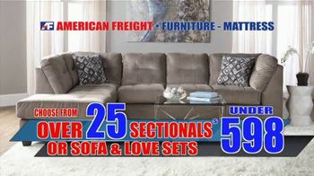 American Freight Savings By the Truckload TV Spot, 'Mattress Sets, Recliners and Sectionals' - Thumbnail 7