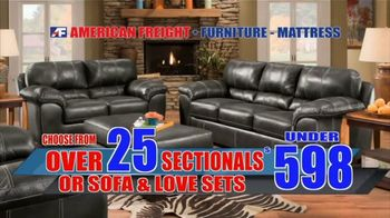 American Freight Savings By the Truckload TV Spot, 'Mattress Sets, Recliners and Sectionals' - Thumbnail 8