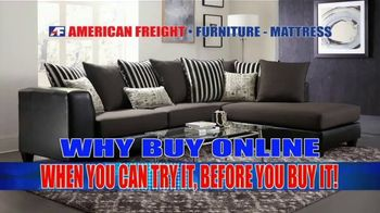 American Freight Savings By the Truckload TV Spot, 'Mattress Sets, Recliners and Sectionals' - Thumbnail 9