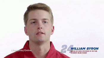 Liberty University TV Spot, 'Important to Me' Featuring William Byron