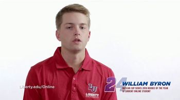 Liberty University TV Spot, 'Important to Me' Featuring William Byron - Thumbnail 6
