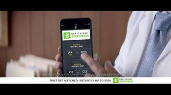 DraftKings Sportsbook TV Spot, 'Good News, Bad News: $500 Match' Featuring Charles Barkley - Thumbnail 5