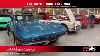 GAA Classic Cars TV Spot, '2019 February & March'
