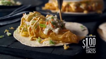 Long John Silver's $1 Tuesday Taco TV Spot, 'Different and Delicious'