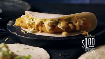 Long John Silver's $1 Tuesday Taco TV Spot, 'Different and Delicious' - Thumbnail 6