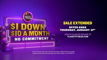 Planet Fitness TV Spot, '$1 Down, $10 a Month: Get Down With Your Judgement-Free Self' Featuring J.B. Smoove - Thumbnail 8