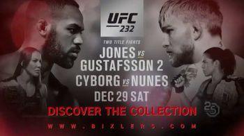 UFC 232 TV Spot, 'Bixler UFC Collection' - Thumbnail 6