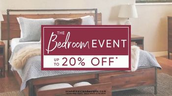 Scandinavian Designs Bedroom Event TV Spot, 'Treat Yourself' - Thumbnail 3