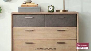 Scandinavian Designs Bedroom Event TV Spot, 'Treat Yourself' - Thumbnail 5