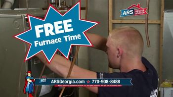 ARS Rescue Rooter Free Furnace Time TV Spot, 'Absolutely Free With Purchase'