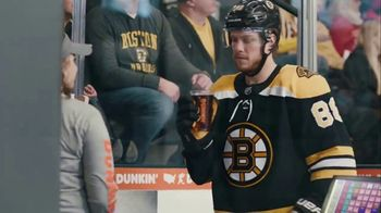 Dunkin' Donuts Cold Brew TV Spot, 'Penalty Box' Featuring David Pastrňák - Thumbnail 5