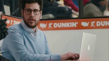 Dunkin' Donuts Cold Brew TV Spot, 'Penalty Box' Featuring David Pastrňák - Thumbnail 7