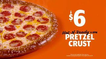 Little Caesars Soft Pretzel Crust Pizza TV Spot, 'What You Had' - Thumbnail 9