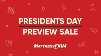 Mattress Firm Presidents Day Preview Sale TV Spot, 'King for a Queen' - Thumbnail 2