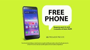 Straight Talk Wireless TV Spot, 'Free LG Phone: No Contract'