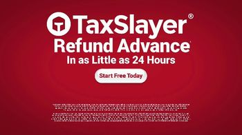 TaxSlayer Refund Advance TV Spot, 'Get Your Money Fast' - Thumbnail 5