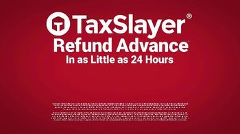 TaxSlayer Refund Advance TV Spot, 'Get Your Money Fast' - Thumbnail 4