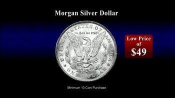 Monaco Rare Coins TV Spot, 'Morgan Silver Dollar Special Offer' - Thumbnail 2