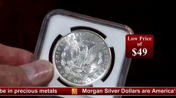 Monaco Rare Coins TV Spot, 'Morgan Silver Dollar Special Offer' - Thumbnail 5