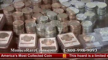 Monaco Rare Coins TV Spot, 'Morgan Silver Dollar Special Offer' - Thumbnail 6